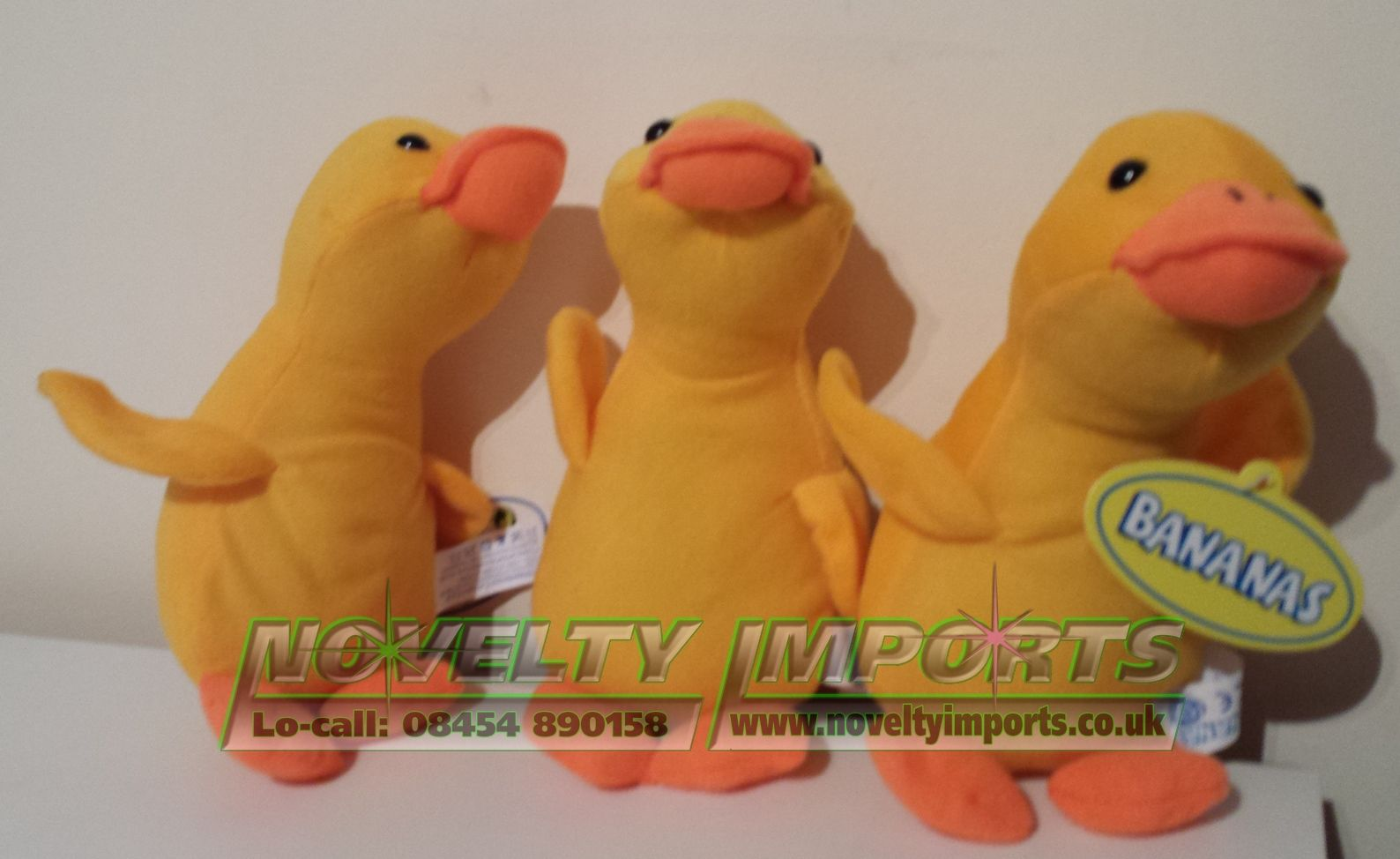 36 Cute Duck Prize Soft Plush Toys