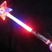 24 big crystal star ball princess wand