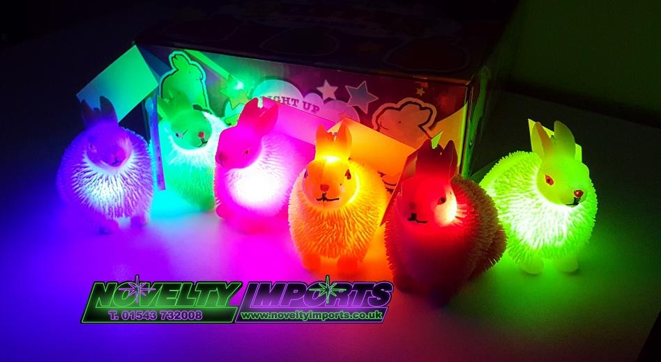 LED puffer bunny
