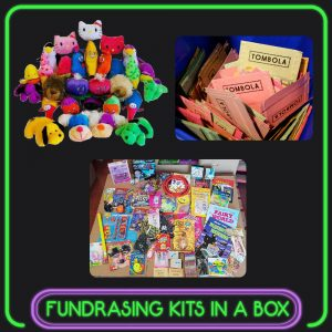 Complete Fundraising Kit In A Box Schools Charities