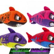 colourfull teeth shark plush