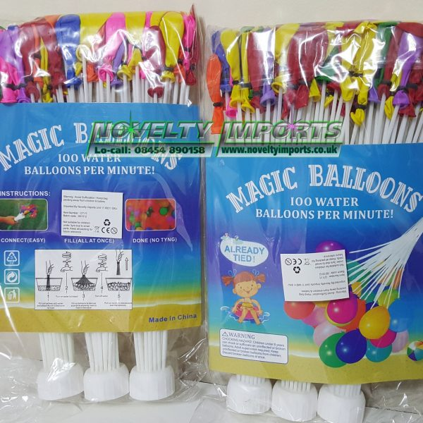Magic water balloon
