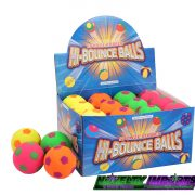 Neon high bounce football